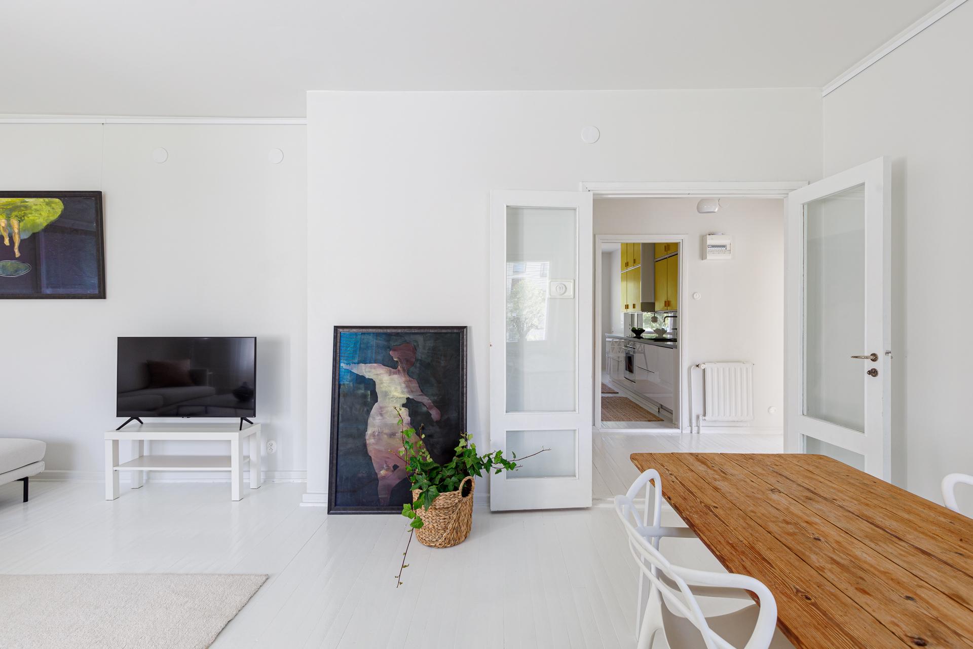 Asuntokuvaus Olohuone taidetta
