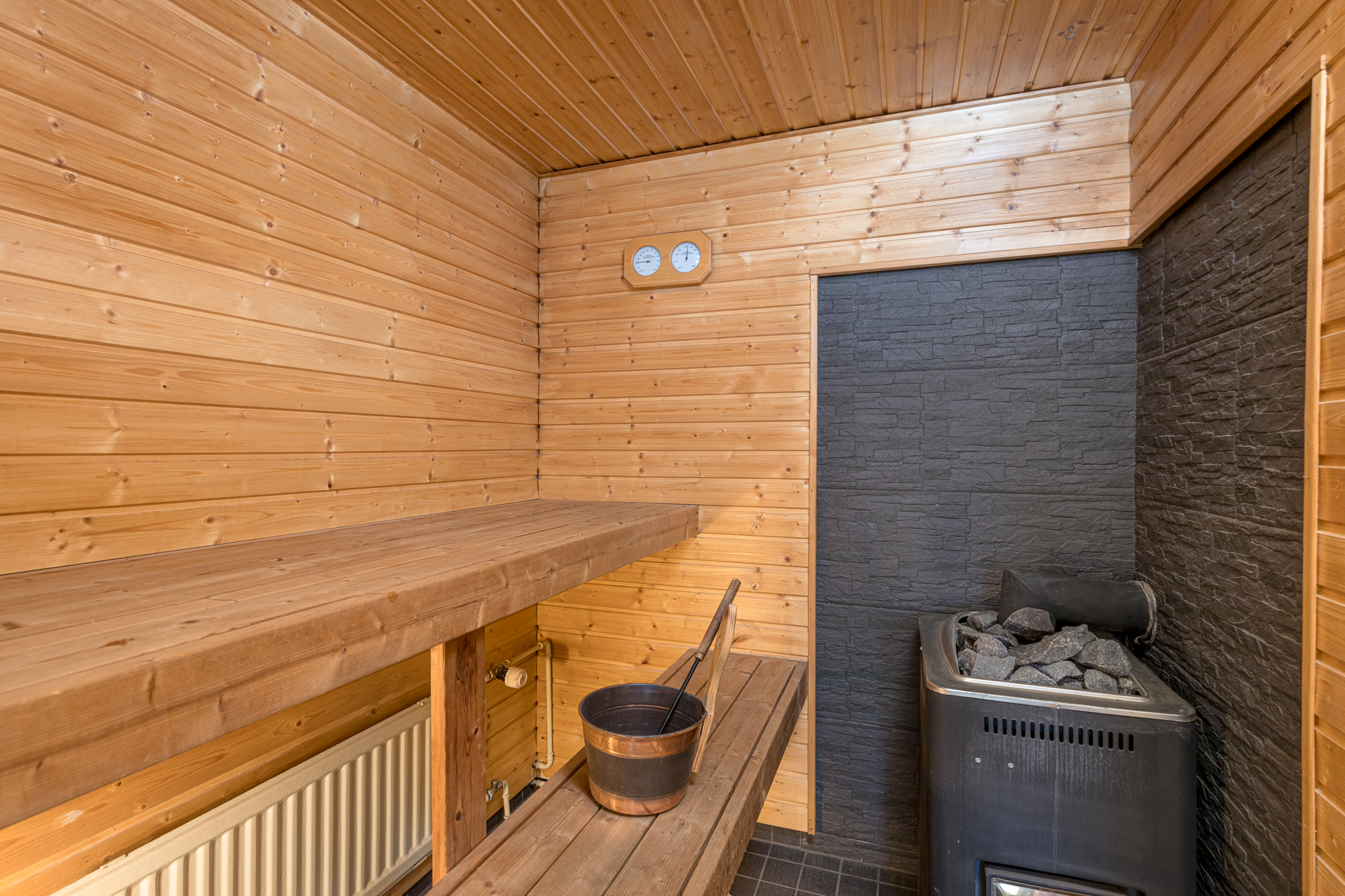 Asuntokuvaus Sauna